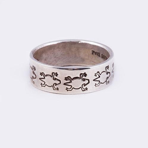 Sterling Stamped Ring RG-0349