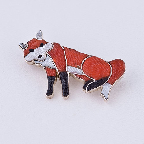 Fox pin/pendant MI-0182