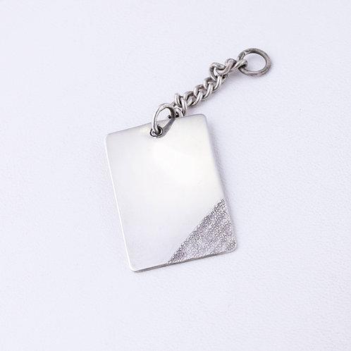 Sterling Silver Carlos Diaz Key Chain MI-0027