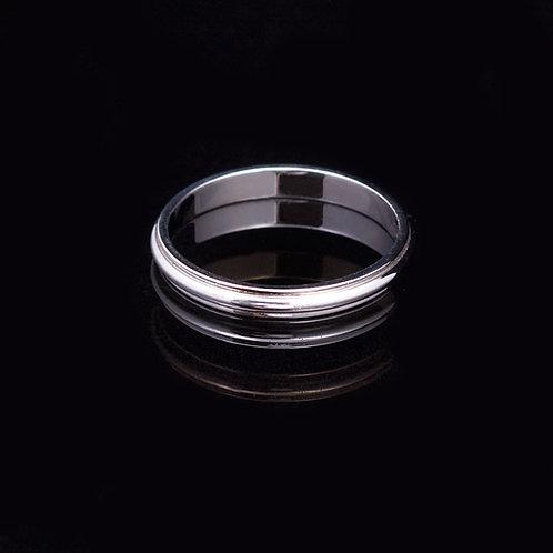 14KT White Gold Ring GD-0419