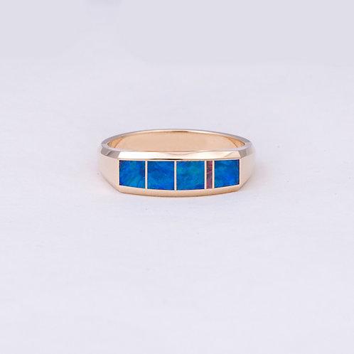 14k Gene Alu Opal Ring GD-0085