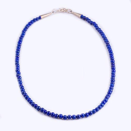 Lapis bead Necklace NK0055