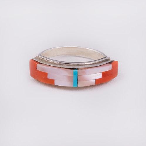 Sterling Silver Zuni Ring RG-0380