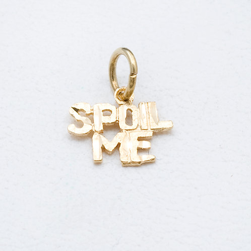 14KT Yellow gold spoil me charm GD-0335