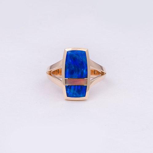 14k Gene Alu Opal Ring GD-0092