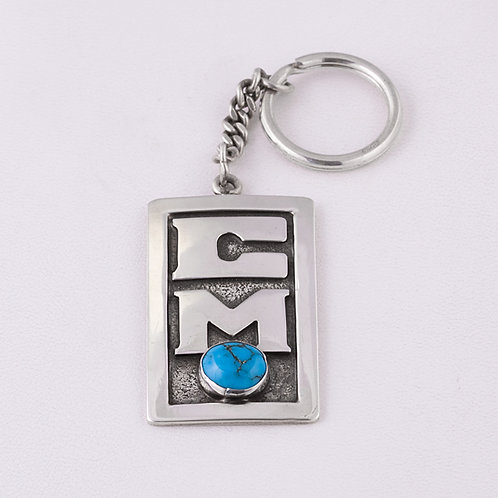 Sterling Silver Carlos Diaz Key Chain MI-0021