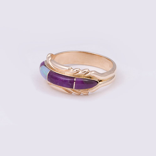 14k Tim Bedah Zuni Ring GD-0107