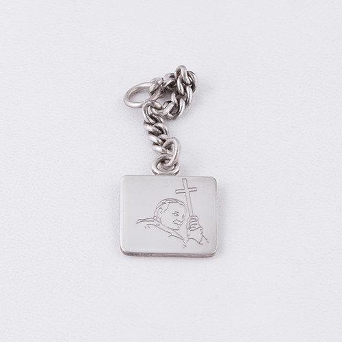 Sterling Silver Carlos Diaz Key Chain MI-0016
