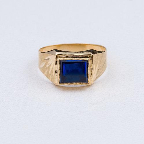 18KT Signet Ring  GD-0371