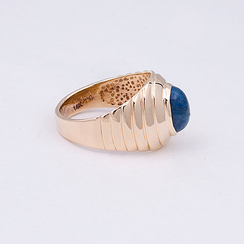14k Lapis Ring GD-0099