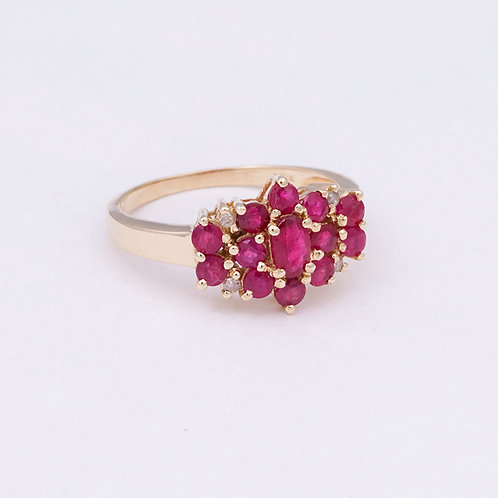 14k Ruby Ring GD-0119