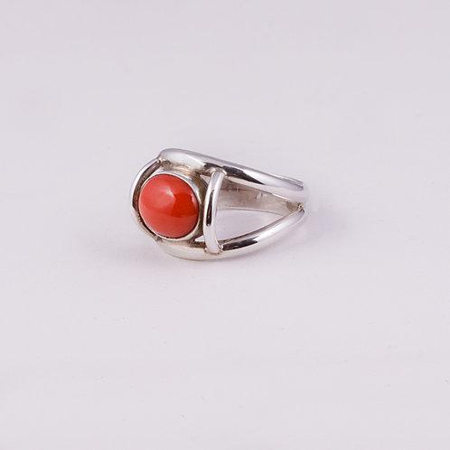 Sterling Silver Carlos Diaz Coral Ring RG-0147