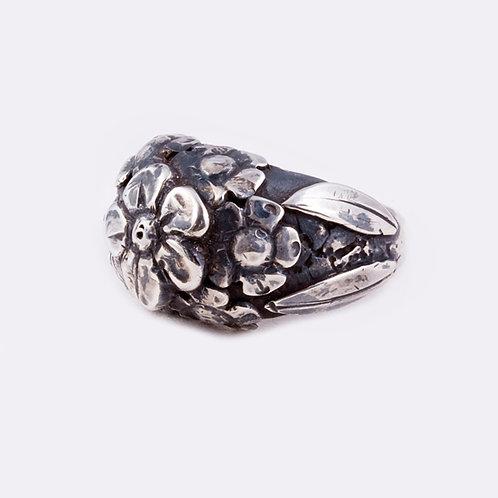 Sterling Flower Ring RG-0350