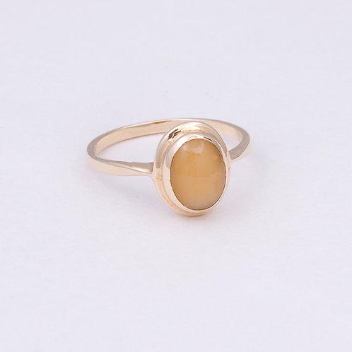 14k Tiger Eye Ring GD-0080