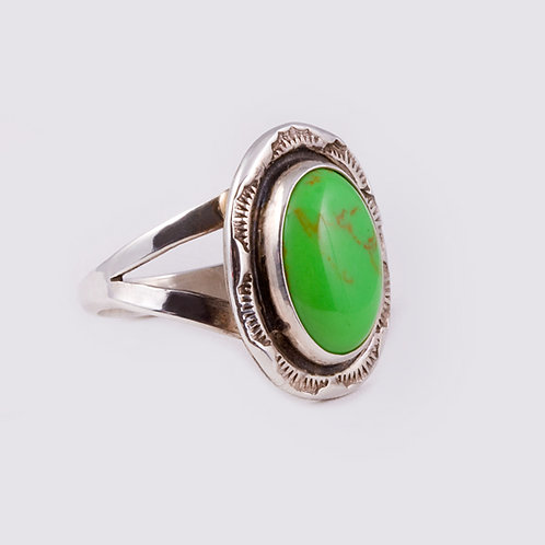 Sterling Silver Navajo Ring RG-0297
