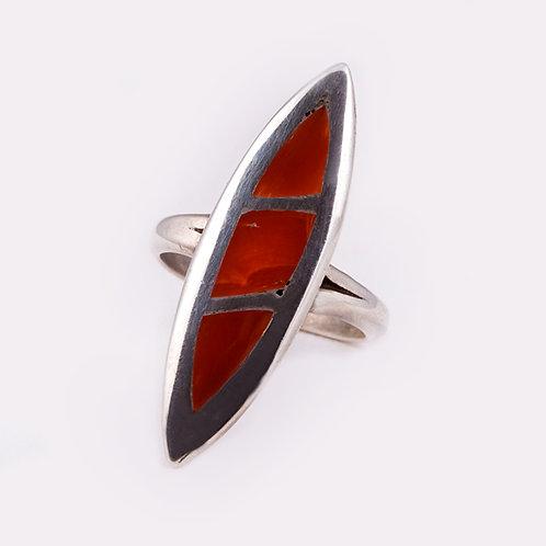 Sterling Zuni Ring  RG-0277