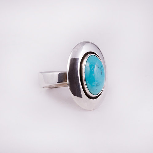 Sterling Carlos Diaz Shadow Box Ring RG-0146