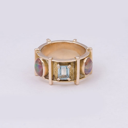 Consignment 14k Carlos Diaz Ring GD-0160
