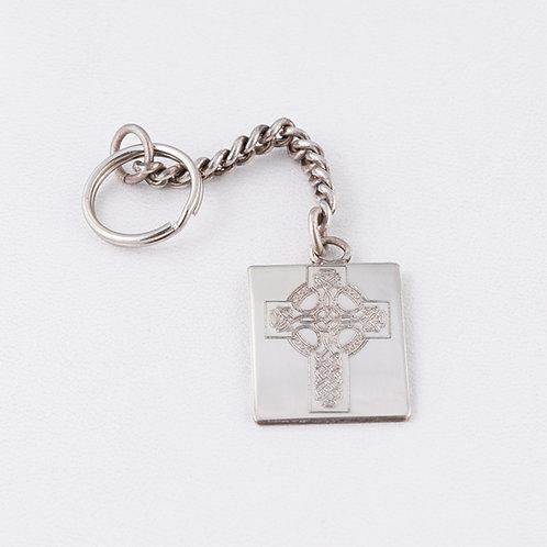 Sterling Silver Carlos Diaz Key Chain MI-0024