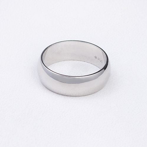 Sterling Silver Domed Ring RG-0233