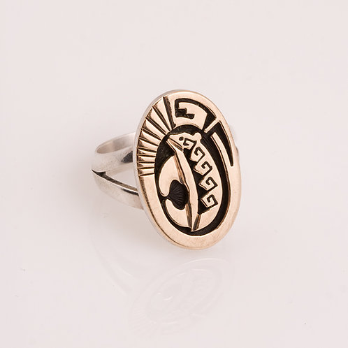 Consignment 14k /Sterling Ring CC-0179
