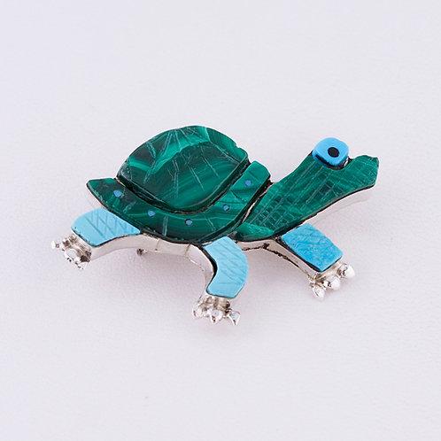 Turtle pin MI-0184