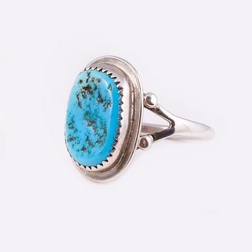Sterling Navajo Ring RG-0272