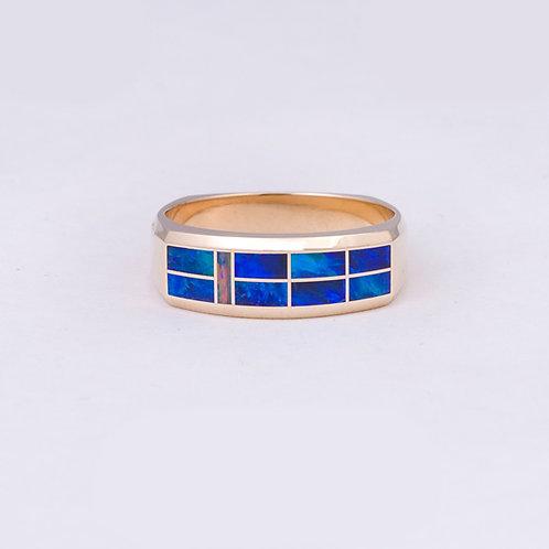 14k Gene Alu Opal Ring GD-0084