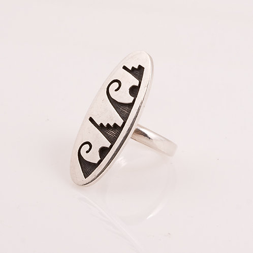 Consignment Hopi Wave Ring CC-0178