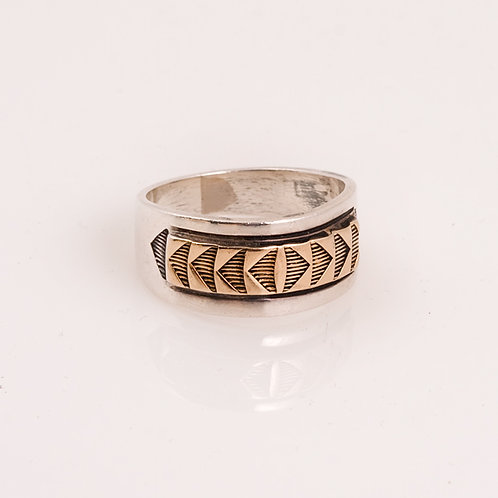 MM Rogers 14k/Sterling Ring CC-0181