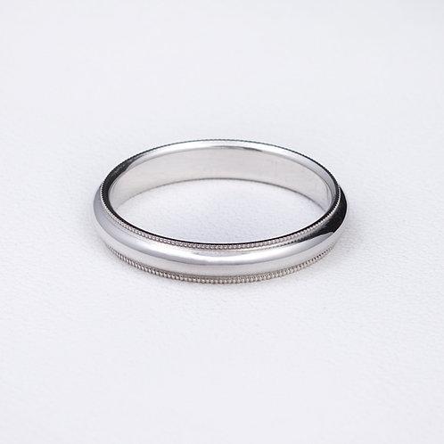 Platinum ring RG-0228