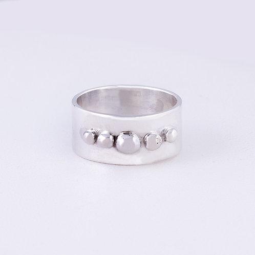 CD Sterling Bead Ring RG-0205