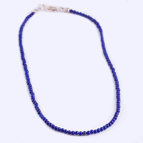 Lapis Bead Necklace NK0052