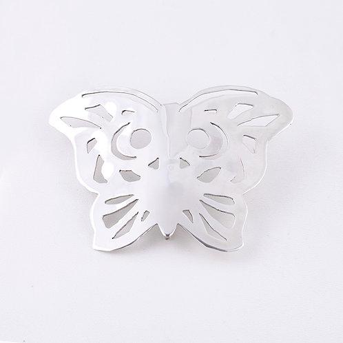 Sterling Silver Carlos Diaz Butterfly Hair Pin