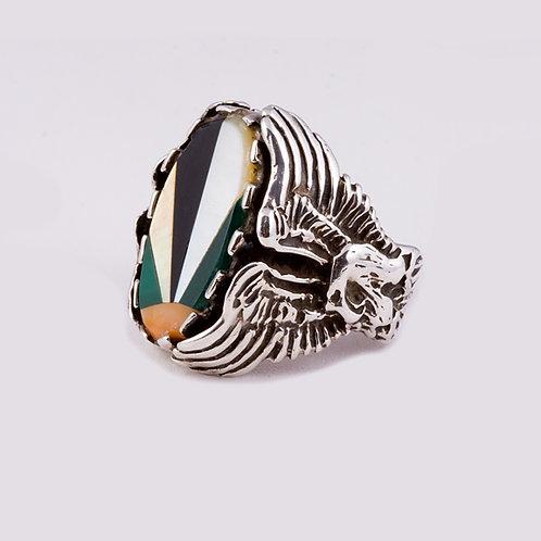 Sterling Silver Zuni Ring RG-0314