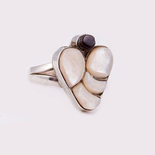 Sterling Silver Zuni Ring RG-0308