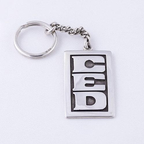 Sterling Silver Carlos Diaz Key Chain MI-0035