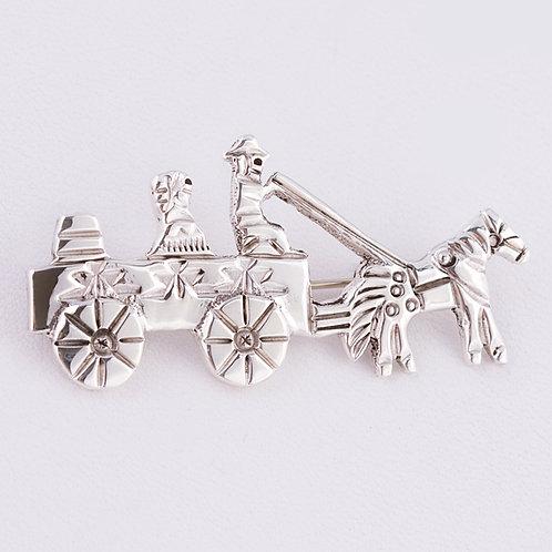 Horse Drawn Cart pin MI-0171