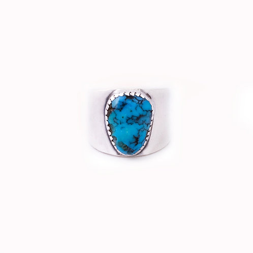Sterling Turquoise ring CC-0059