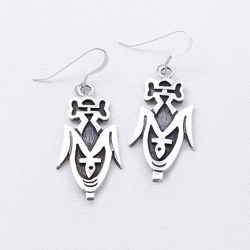 Sterling Hopi Earrings ER-0359