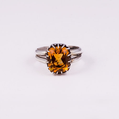Sterling Silver Carlos Diaz Citrine Ring RG-0200