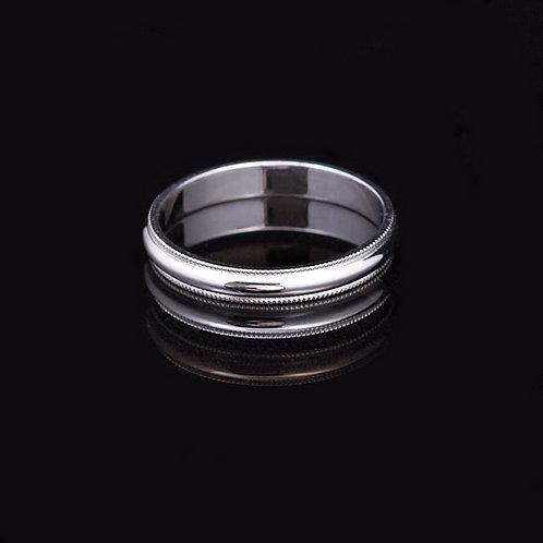 White Gold Ring GD-0420