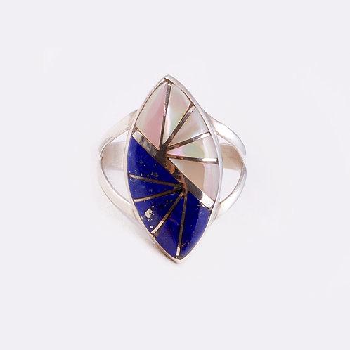 Sterling Zuni Ring RG-0280