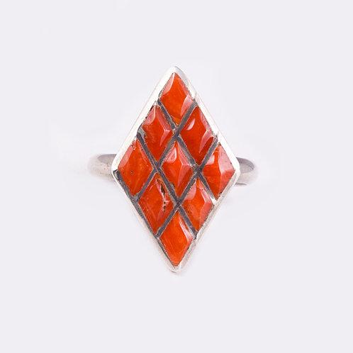 Sterling Zuni Ring RG-0283