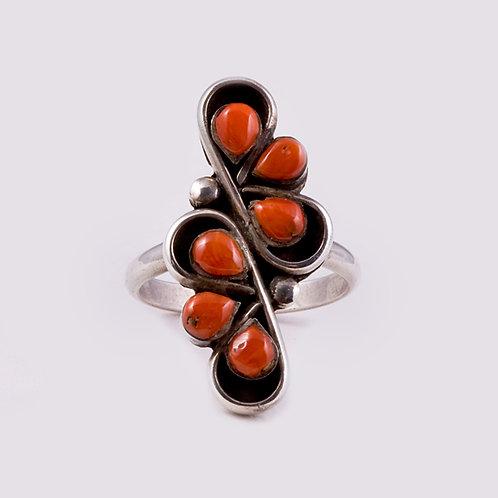 Sterling Silver Navajo Ring  RG-0302