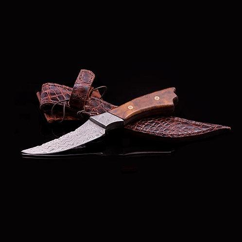 Custom Damascus Knife JWK-0016