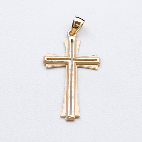 14KT Yellow Gold Cross GD-0298