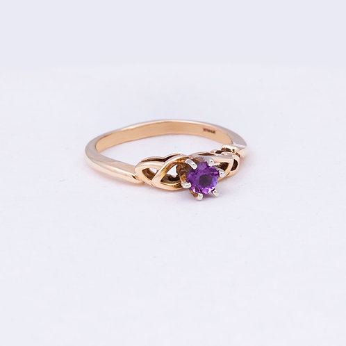14k Amethyst Ring GD-0115