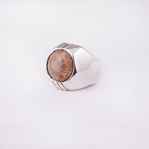Sterling Silver Carlos Diaz Ring RG-0153