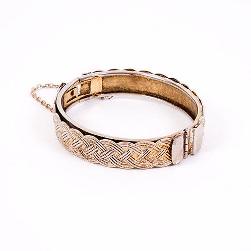 Weave Pattern Bracelet